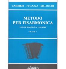 Metodo per Fisarmonica Vol. 1º - Berben