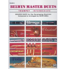 Belwin Master Duets Vol.2 Trumpet Interm