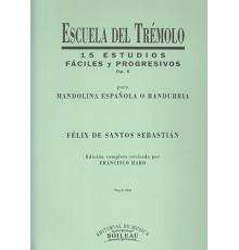Escuela del Trémolo Op. 5, 15 Estudios F