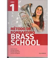 Método de Bombardino Brass School Vol. 1