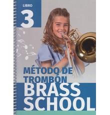 Método de Trombón Brass School Vol. 3
