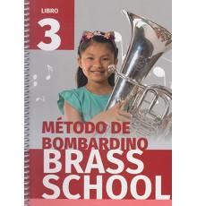 Método de Bombardino Brass School Vol. 3