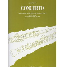 Concerto for Oboe C minor/ Red.Pno.