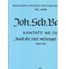 Cantata BWV 150 Lord, my sould./ Partitu