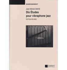 Dix Études pour Vibraphone Jazz