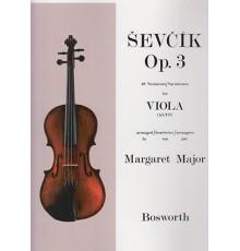 Sevcik Viola Studies Op.3 40 Variations
