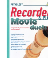 Anthology Recorder and Piano   CD Movie