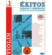 Éxitos Latinos Españoles Vol. 1 Violín
