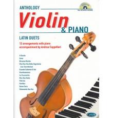 Anthology Violin and Piano   CD Latin