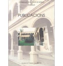 Publicacions Quadern Nº 1