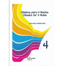 Clásicos para 4 Flautas Vol. 4