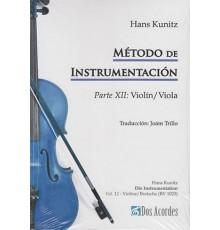 Método de Instrumentación. Parte XII: