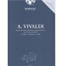 Sonata Op.14 Nº3, RV 43 in A minor   CD