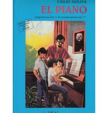 El Piano. Improvisación y Acompañami. 1º