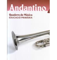Andantino 4. Quadern de Música (Català)