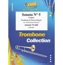 Sonata Nº 5 in E minor