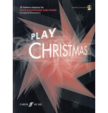 Play Christmas Alto Saxophone   CD
