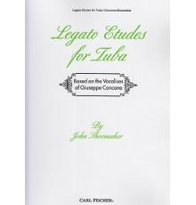 Legato Etudes for Tuba