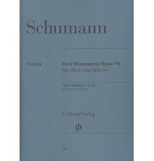 Drei Romanzen Op. 94 für Oboe und Klavie