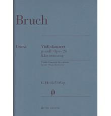 Violinkonzert G moll Op. 26/ Red. Pno.