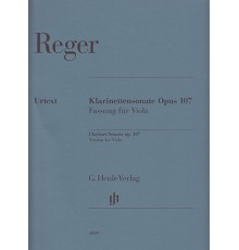 Klarinettensonate Op. 107