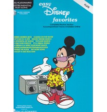 Easy Disney Favorites Flute/ Audio Acces