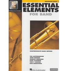 Essential E. for Band Book 1 Trombone