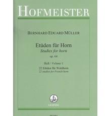 Etuden Op.64  Heft 1