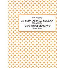 30 Simple Studies Sopraanblokflute