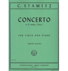 Concerto in D Major Op.I/ Red.Pno.