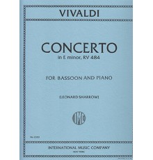 Concerto in E minor, RV 484/ Red.Pno.