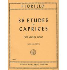 36 Etudes or Caprices