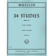 34 Studies Op. 64 Vol. II