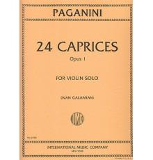 24 Caprices Op. 1