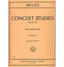 Concert Studies (50), Op.26 Vol.II