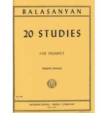 20 Studies for Trumpet