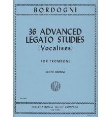 36 Advanced Legato Studies (Vocalises)