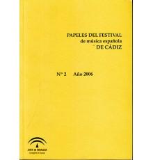 Papeles de Festival de Música Española d