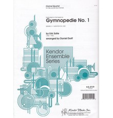 Gymnopedie, Nº 1 Clarinete Quartet