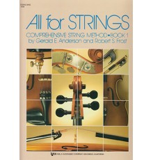 All for Strings. String Bass. Book 1