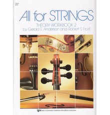 All for String. Viola. Theory Workbook 2