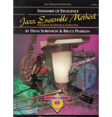 Jazz Ensemble Method 2nd Tenor Sax   CD