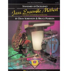 Jazz Ensemble Method 2nd Alto Sax   CD