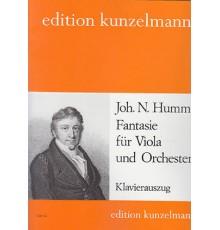 Fantasie für Viola und Orchester/Red.Pno
