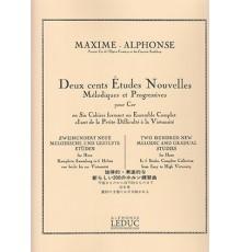 200 Etudes Nouvelles.2 Cahier.Trompa