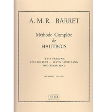Méthode Complète de Hautbois Vol. 2