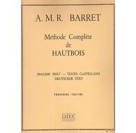 Méthode Complète de Hautbois Vol. 3