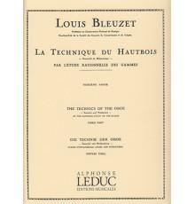 La Technique du Hautbois Vol. 3