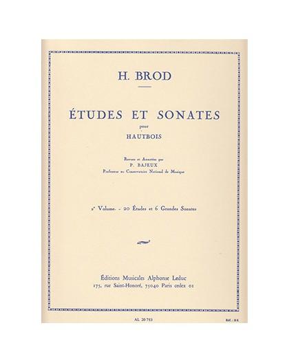 Etudes et Sonates pour Hautbois Vol. 2