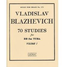 70 Studies for BB flat Tuba Vol. I